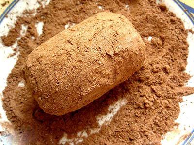 Пирожное картошка из протеина