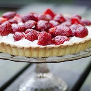 Рецепт пирога с клубникой при диабете