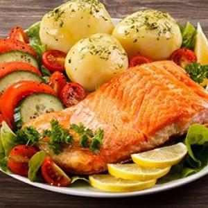 Рецепт рыбы с овощами при диабете
