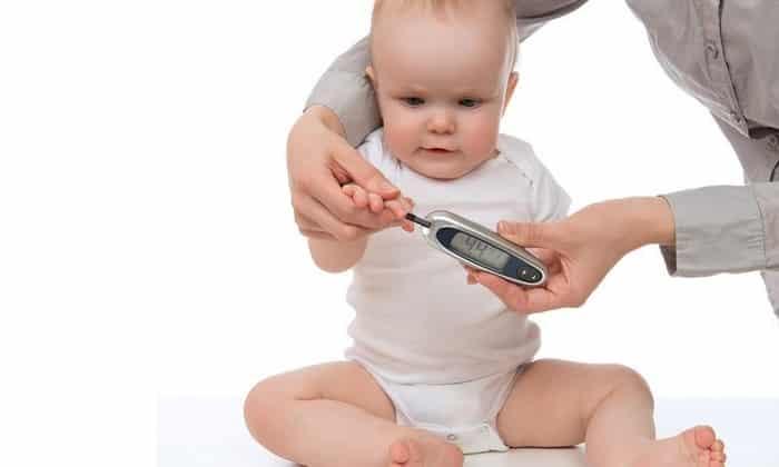 Причины диабета у новорождённых