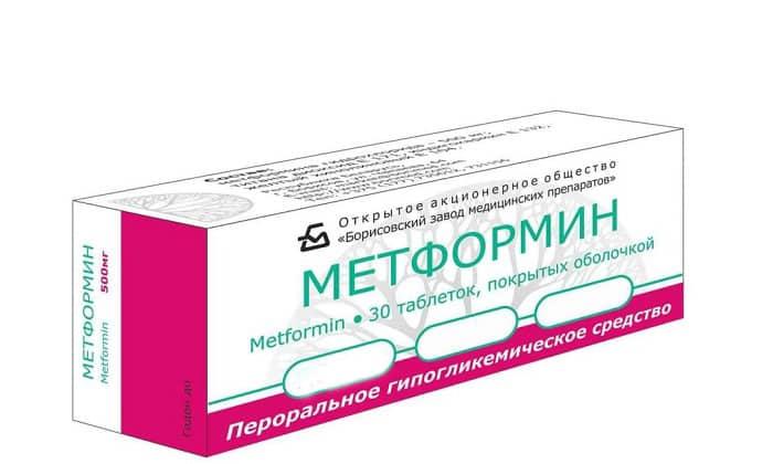 Метформин снижает сахар в крови