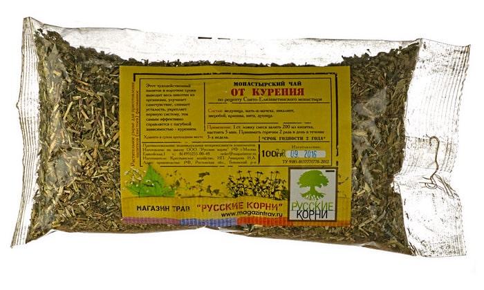 Монастырский чай от курения в ВеликихЛуках