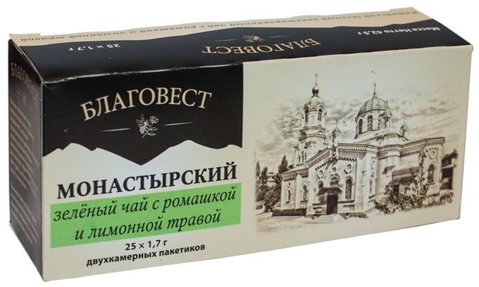 Монастырский чай - правда или развод?