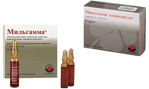 Препарат Мильгамма (таблетки или уколы) представляет собой нейротропное средство, обладающее витаминным составом