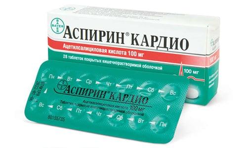 Аспирин Кардио назначают для предотвращения развития сердечно-сосудистых заболеваний, которые могут быть вызваны повышенной вязкостью крови