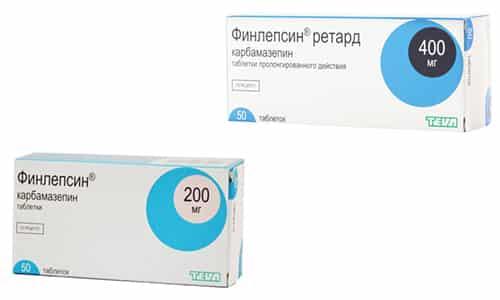 Фармацевтическая промышленность выпускает несколько медикаментозных средств противосудорожного действия, к ним относится Финлепсин и Финлепсин ретард