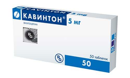 Кавинтон в соответствии с инструкцией по применению используется для лечения: ишемии, сосудистой деменции