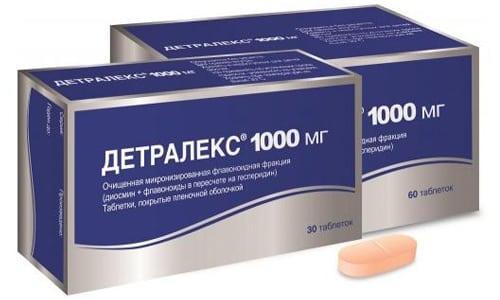 Детралекс в рамках симптоматического лечения венозно-лимфатической недостаточности
