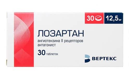 Лозартан нормализует артериальное давление, оказывает диуретическое действие, обладает пролонгированным действием