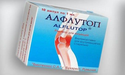 Алфлутоп назначают при болезнях скелетно-мышечной системы на фоне нарушений в деятельности нервной системы