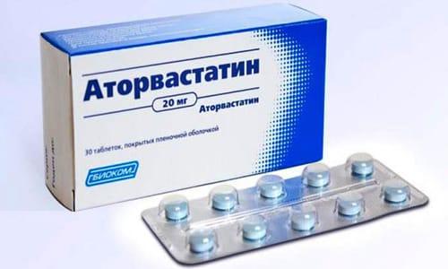 Аторвастатин снижает уровень холестерина на 47%