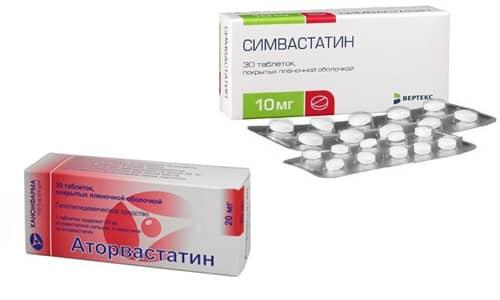 Аторвастатин или Симвастатин для снижения уровня плохого холестерина часто применяются в кардиологии