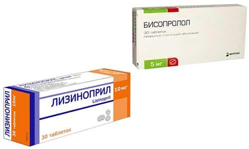 Гипертоническая болезнь встречается даже в сравнительно молодом возрасте, чтобы нормализовать состояние нужно применять Бисопролол и Лизиноприл