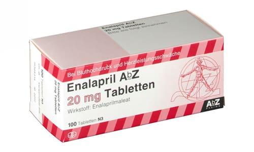 Эналаприл помогает снизить давление и улучшить функционирование сердечной мышцы
