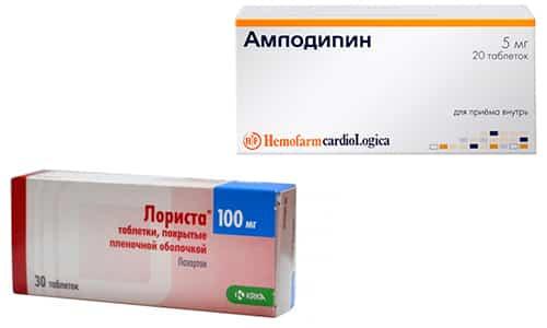 Комплексное лечение гипертонической болезни I - II степени с помощью препаратов Амлодипин и Лориста способствует появлению цифровых величин целевых уровней АД у больного