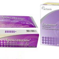 В чем разница между мазью и таблетками Троксевазин?