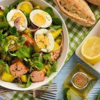 Рецепты салатов при диабете