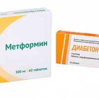 Совместимость Метформина и Диабетона